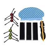 LilyJudy para Deebot Ozmo 920 950 filtro lado cepillo kit aspirador Accesorios para Deebot Ozmo 920 950