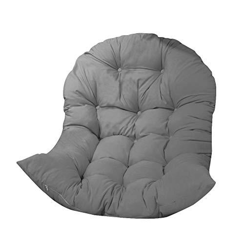 N/T - Cojín para sillón colgante con forma de columpio, para interior y exterior, patio y jardín