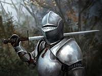 騎士戦士のヘルメットソードファンタジーアート32x24ポスター 平行輸入