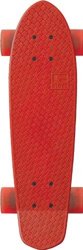 Globe GLBBantam Dip Sticks Lange Skateboard für Erwachsene Einheitsgröße bunt - Rouge/Rouge/Clear Red