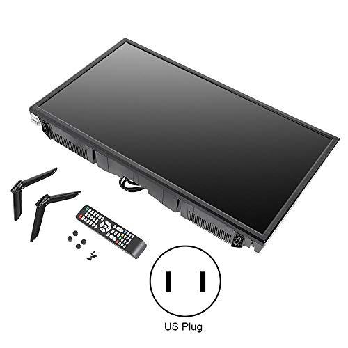ciciglow TV de 32 Pulgadas Televisión WiFi Home TV HD 1366 * 768 Alta resolución 45w TV HDMI Incorporado, USB para el hogar(British regulatory)