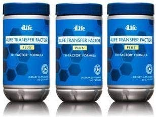 3 Pack - 4Life Transfer Factor Plus - 3 Pack by 4Life