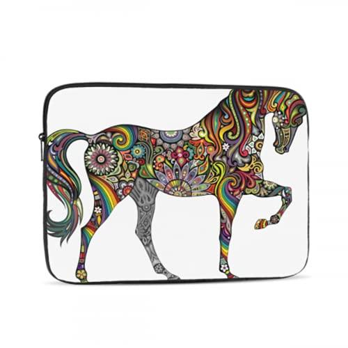 Estuche para Accesorios para computadora portátil Horse Vivildy Running Animal Organizador para computadora portátil Estuche para computadora Tableta Maletín Bolsa de Transporte pa