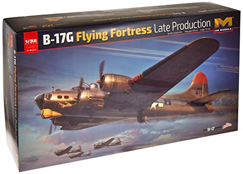 HK Models 1/32 Scale B-17G Flying Fortress Late Prod - 01E030 Hong Kong Models