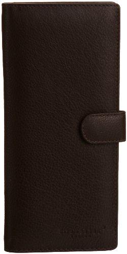 HYDESTYLE Pratico Nappa Leather 12 Card Tab Lw04, Portafoglio Donna
