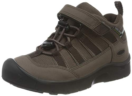 Keen Unisex-Kinder HIKEPORT 2 LOW WP Walking-Schuh, Coffee Bean, 37 EU