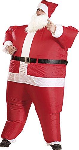 Playtastic Costume Gonflable Père Noël