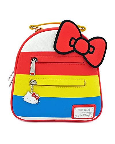 Loungefly Hello Kitty by Backpack Red Bow Bags