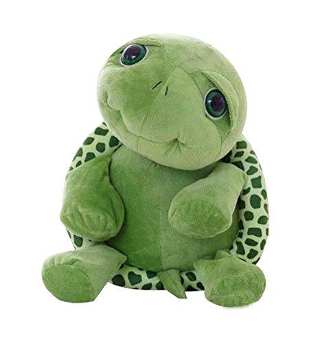 Joyfeel buy 1 Pieza lindo juguete Almohada de Forma de Tortuga Juguete de algodón Jugar y dormir compañero para niños adultos,Verde 18cm