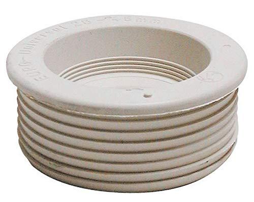 Spülrohrverbinder, Spülrohr 28-44 mm, weiß
