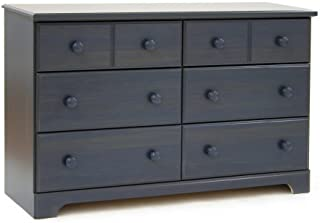 South Shore Furniture, Summer Breeze Collection, 6 Drawer Dresser, Blueberry