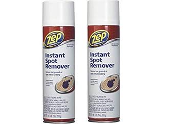 Zep Carpet Cleaner Commercial Instant Spot Remover 19 Oz  2 Pack