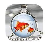 Leonid Meteor - Colgante de ducha para acuario, diseño de peces en un cuenco