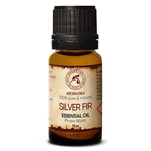 Abeto Natural - Aceite Esencial Abeto de Plata 10ml - 100% Puro & Natural - Picea Abies Leaf Oil - Austria - Mejor para Aromaterapia - Sauna - Abeto Blanco - Silver Fir Essential Oil