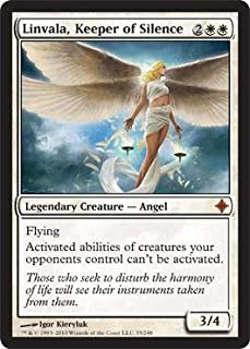 Magic The Gathering Linvala, Keeper of Silence