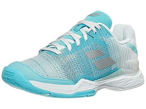 Babolat Damskie buty do tenisa Jet Mach Ii Ac, niebieski - Capri White - 37 eu