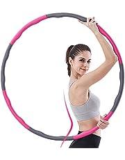 aoory Hula Hoop serie för viktminskning däck med skum ca 1 000 g vikt beskyddare Hula Hoop Däck för fitness