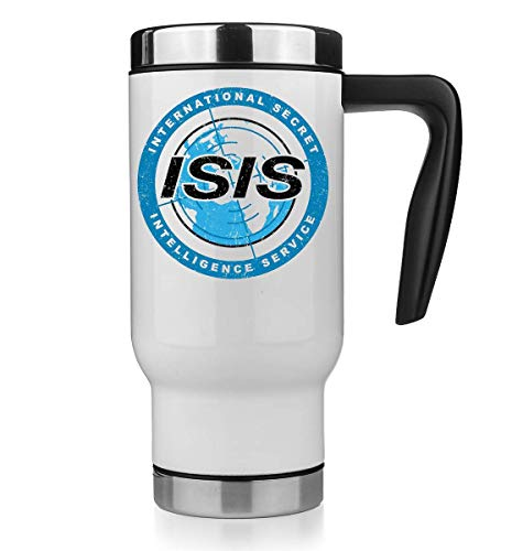 KRISSY International Secret Service Isis Thermo Mug Thermotasse Thermal Tasse Coffee