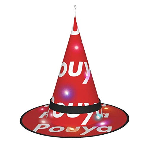 AOOEDM Halloween Bruja Sombrero Fiesta Cosplay decoracin Pouya Sombrero de Bruja para Mujer Disfraz Accory