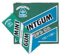 サンコー ミントガム 10粒   ※15個セット (muso33016x15)
