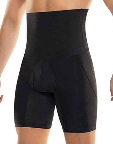 Bslingerie® Herren Abnehmen Shapewear mit hoher Taille Unterwäsche Kontrolle Knickers Briefs (M, Oberschenkel Shapewear)