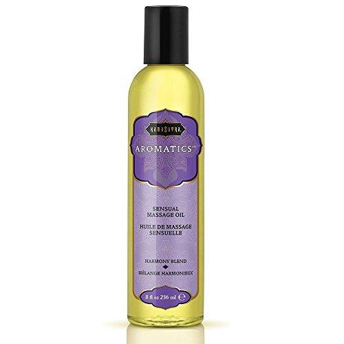 Kama Sutra Sensual Massage Oil, Harmony Blend, 8 Ounces