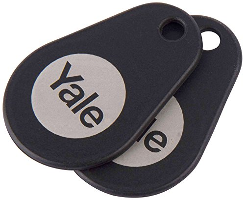 Yale Smart Door Lock Key Tags (Twin Pack) - Black