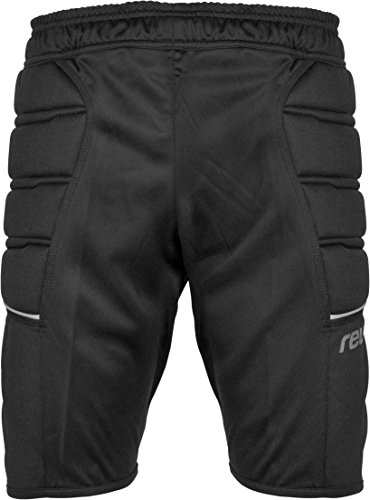 Reusch Kinder Trainingshose Compact Shorts Junior, Black, XS