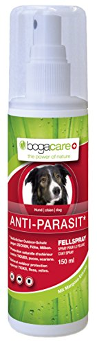 Bogacare UBO0444 Anti-Parasit Fellspray Hund, 150 ml