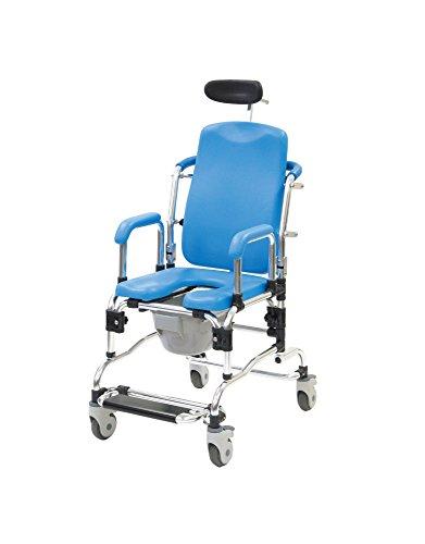 リクライニングシャワーキャリー 5153-20 ブルー