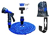 Ever Rich ® 100 Feet Newest Expandable Strongest Hose With & 8 Pattern
