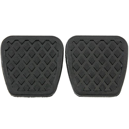 Red Hound Auto 2 Brake Clutch Pads Cover for Compatible with Honda Pedal Rubber Manual Transmission Replacement