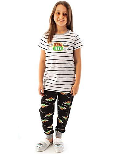 Friends Central Perk Pyjamas for Girls Café TV Show Kids Children PJ Set White