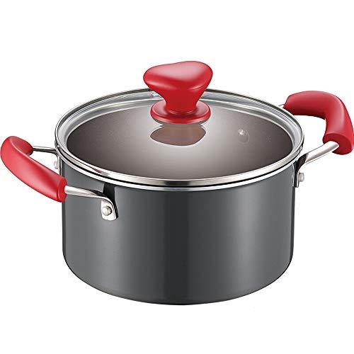 Cucsaist Antihaft-Suppentopfnudeltopf-Milchtopfmischungs-Topfboden-Kochergas Universal