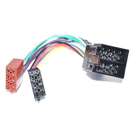 Autoradio ISO-ISO Verlängerung Kabel UNIVERSAL Radioadapter STECKER Buchse PKW Auto Car KFZ