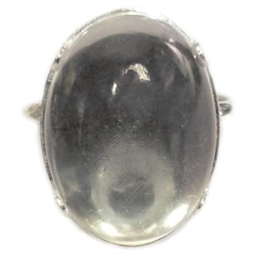 Ring Silber & Bergkristall – groß