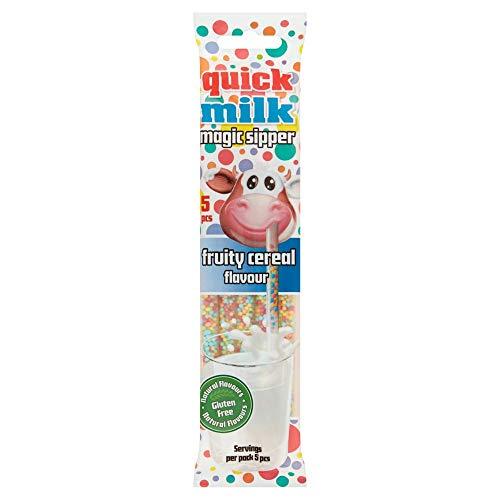Cannucce Aromatizzate Frutta e Cereali Multicolor per Latte 30 gr