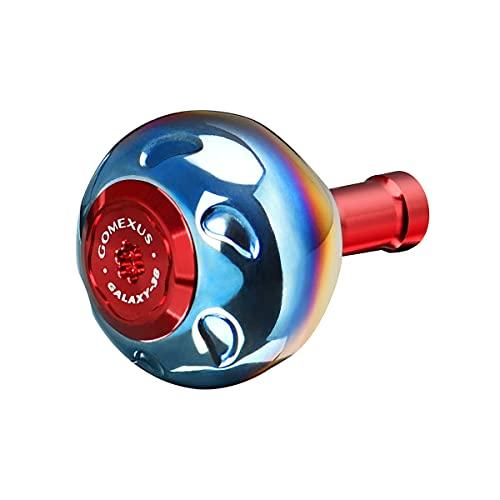 GOMEXUS Pomello Mulinello compatibile per Shimano Stradic CI4 1000-4000, Manopola Mulinello in lega di titanio, direttomontaggio diretto, 38 mm
