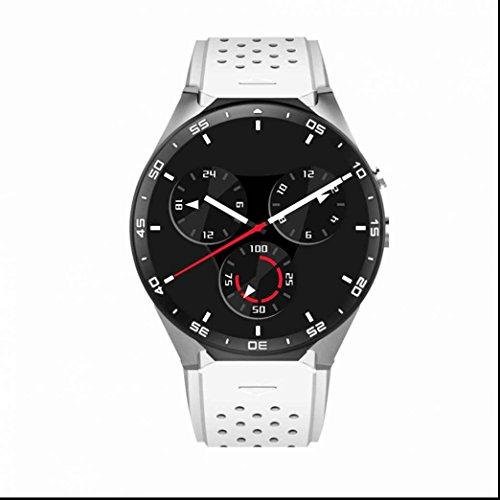 Smart Watch orologio da polso con SIM Card,Braccialetto bluetooth Fitness e palestra Sport Bracciale Monitorare il Sonno Anti-perso Orologio Intelligente Fitness Tracker per Android / iOS