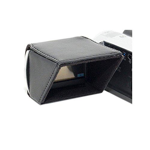 JJC LCH-27 - Kameraausrüstung (Canon DC310 / DC330 / DC410 / DC420 / FS10 / FS100 / FS20 / FS200 / FS21 / FS22 / FS30 / FS300 /, Schwarz, Kunstleder)