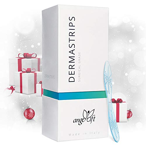Angellift DermaStrips (Shark Tank Winner) BASIC Treatment for the Removal of Lip Wrinkles, Aging Lines, Laugh Lines and Smoker Lines around the Mouth, Lips and Cheek.