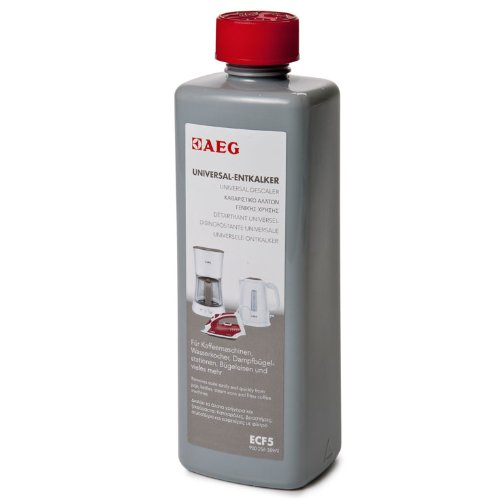 AEG Electrolux ECF5 Universal Entkalker (Für Kaffeeautomaten, Wasserkocher, Bügeleisen u.v.m., schonend entkalken, geruchsneutral, lebensmittelsicher, umweltverträglich)