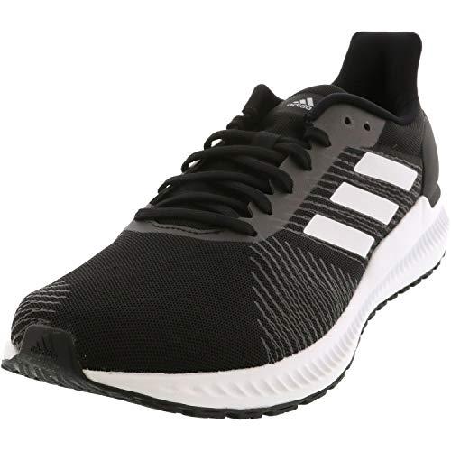Adidas Solar Blaze Herren-Laufschuhe, Schwarz (Core Black / Core Black / Footwear White), 42 EU