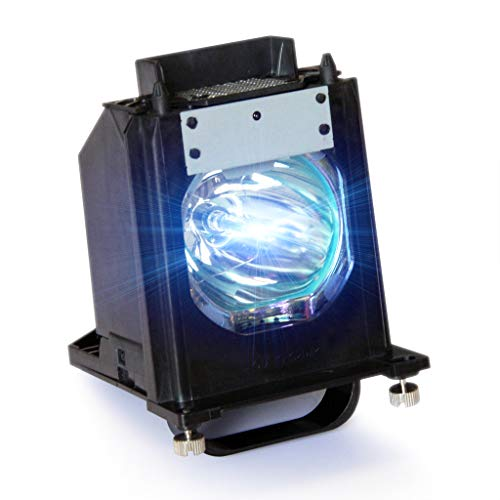 Tawelun 915P061010 DLP TV Replacement Lamp with Housing for Mitsubishi WD-57733 WD-57734 WD-57833 WD-65733 WD-65734 WD-65833 WD-73733 WD-73734 WD-73833 WD-C657 WD-Y577 WD-Y657