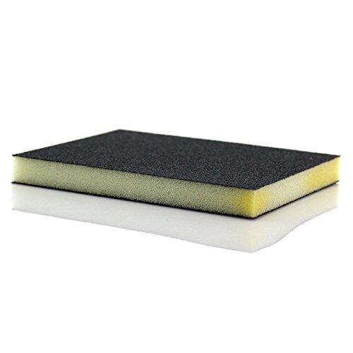 TelMo Leder Schleifpad zum vorsichtigen Anschleifen der Glattlederflächen