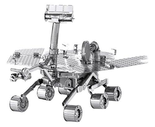 Fascinations Metal Earth MMS077 - 502512, Mars Rover, Konstruktionsspielzeug, 2 Metallplatinen, ab 14 Jahren