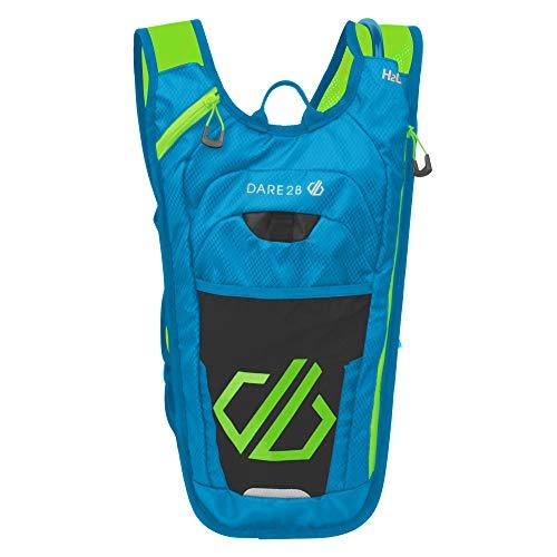 Dare 2b Vite II Hydro Ergonomic Lightweight Backpack - Atlantic Blue/Jasmine Green, One Size