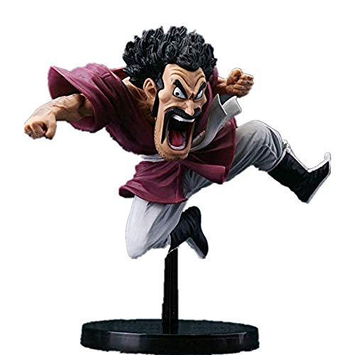 No Estatua de Personaje de Anime Mr.Satan The Dragon Ball 14cm Anime Regalos Juguetes Kits de Modelo