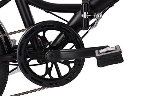 KS Cycling Faltrad Foldtech 6 Gänge Fahrrad, schwarz, 20 Zoll - 2