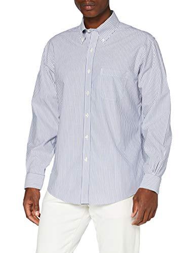 Brooks Brothers DS OG Ni SBCLTH PBD RGNT Camicia Casual, Blu (Blue...
